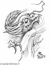 Imprimer le coloriage : Dragon, numéro 9500