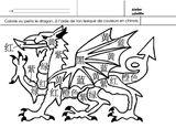 Imprimer le coloriage : Dragon, numéro a140c9fd
