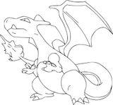 Imprimer le coloriage : Dragon, numéro b8281ffa
