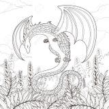 Imprimer le coloriage : Dragon, numéro bfe687f9