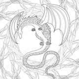 Imprimer le coloriage : Dragon, numéro dd5cf64b