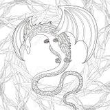 Imprimer le coloriage : Dragon, numéro e512b855