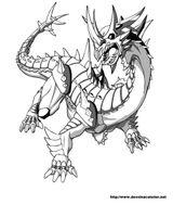 Imprimer le coloriage : Dragon, numéro e6011e6e