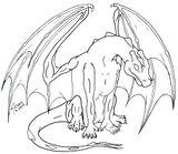 Imprimer le coloriage : Dragon, numéro e9659efa