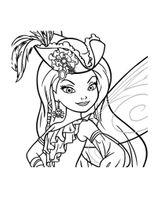Imprimer le coloriage : Fée Clochette, numéro 128890c5