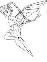 Imprimer le coloriage : Fée Clochette, numéro 134b6227