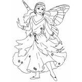 Imprimer le coloriage : Fée Clochette, numéro 16721