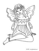 Imprimer le coloriage : Fée Clochette, numéro 16733