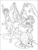 Imprimer le coloriage : Fée Clochette, numéro 180738