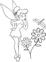 Imprimer le coloriage : Fée Clochette, numéro 1991c0db