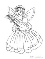 Imprimer le coloriage : Fée Clochette, numéro 1d8d8c83