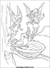 Imprimer le coloriage : Fée Clochette, numéro 4229