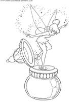 Imprimer le coloriage : Fée Clochette, numéro 4245