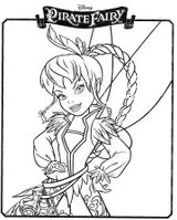 Imprimer le coloriage : Fée Clochette, numéro bb01cd18