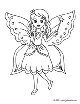 Imprimer le coloriage : Fée Clochette, numéro e7420b18