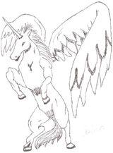 Imprimer le dessin en couleurs : Licorne, numéro 20775