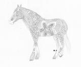 Imprimer le coloriage : Licorne, numéro 307364