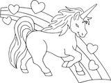 Imprimer le coloriage : Licorne, numéro 3c94faf8