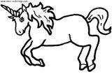 Imprimer le coloriage : Licorne, numéro 53563