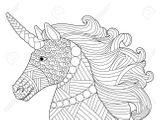 Imprimer le coloriage : Licorne, numéro 649ca79b