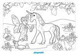 Imprimer le coloriage : Licorne, numéro 73c01649
