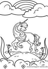 Imprimer le coloriage : Licorne, numéro 783dda6c