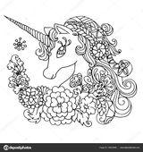 Imprimer le coloriage : Licorne, numéro 987aae9f