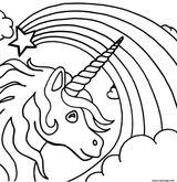 Imprimer le coloriage : Licorne, numéro cd3b8da7