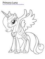 Imprimer le coloriage : Licorne, numéro debd8dc0