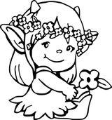 Imprimer le coloriage : Lutin, numéro b99c8855