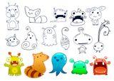 Imprimer le dessin en couleurs : Monstres, numéro 208704
