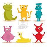 Imprimer le dessin en couleurs : Monstres, numéro 208711