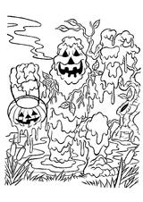 Imprimer le coloriage : Monstres, numéro 209495