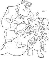 Imprimer le coloriage : Monstres, numéro 259a887d