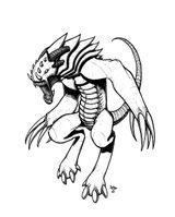 Imprimer le coloriage : Monstres, numéro 297565