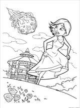 Imprimer le coloriage : Monstres, numéro 3380ffbd
