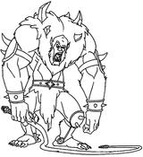 Imprimer le coloriage : Monstres, numéro 575899