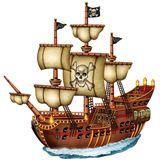 Imprimer le dessin en couleurs : Pirate, numéro 119249