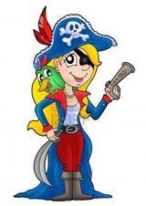 Imprimer le dessin en couleurs : Pirate, numéro 158238