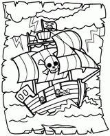 Imprimer le coloriage : Pirate, numéro 1ee21026