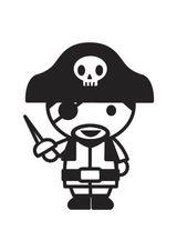 Imprimer le dessin en couleurs : Pirate, numéro 20195