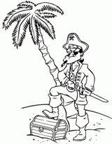 Imprimer le coloriage : Pirate, numéro 5e185ffa