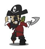 Imprimer le dessin en couleurs : Pirate, numéro 692809