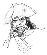 Imprimer le coloriage : Pirate, numéro 8257
