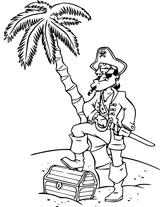 Imprimer le coloriage : Pirate, numéro 8910e93d