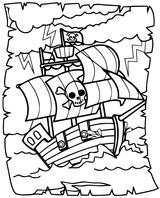 Imprimer le coloriage : Pirate, numéro d5a1d851