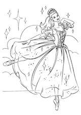 Imprimer le dessin en couleurs : Princesse, numéro 11978