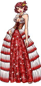 Imprimer le dessin en couleurs : Princesse, numéro 11984