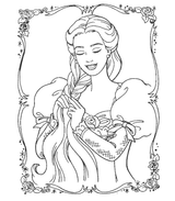 Imprimer le coloriage : Princesse, numéro 13152