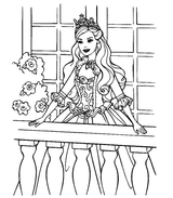Imprimer le coloriage : Princesse, numéro 14102